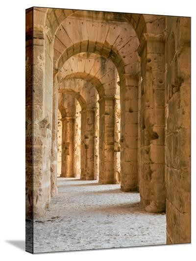 Roman Arches-Maggie Sale-Stretched Canvas Print