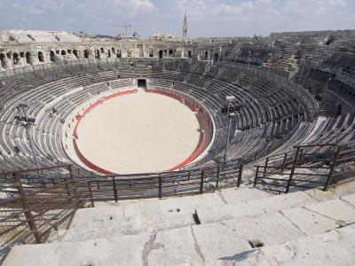 Roman Arena, Nimes, Languedoc, France, Europe-Ethel Davies-Photographic Print
