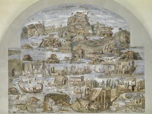 Roman Art : Nile Mosaic of Praeneste
