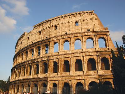 Roman Art, the Colosseum or Flavian Amphitheatre, Rome, Italy-Prisma Archivo-Photographic Print
