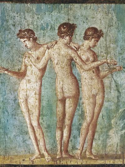 Roman Art : the Three Graces--Photographic Print