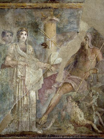 Roman Art : the Wedding of Zeus and Hera on Mount Ida--Photographic Print