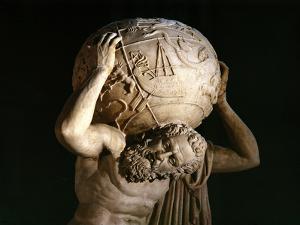 Atlas, Copy of a Greek Hellenistic Original by Roman