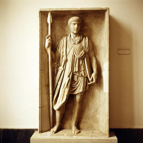 Roman Auxilliary Soldier, Imperial Period, c30 BC to c470-Unknown-Giclee Print