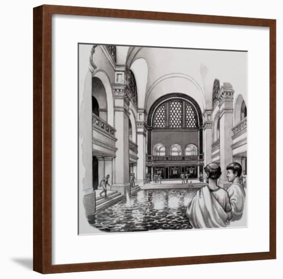 Roman Baths-Pat Nicolle-Framed Giclee Print