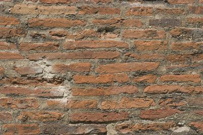 Roman Brick and Tile Wall-Natalie Tepper-Photo