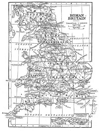 Roman Britain--Giclee Print