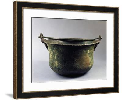 Roman Bronze Bucket--Framed Giclee Print