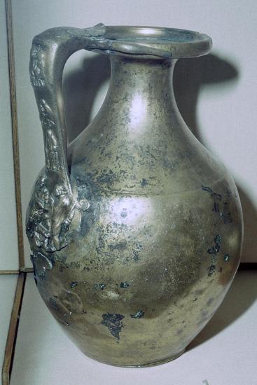 Roman bronze jug. Artist: Unknown-Unknown-Giclee Print