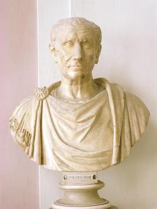 Bust of Julius Caesar by Roman