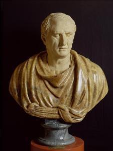 Bust of Marcus Tullius Cicero by Roman