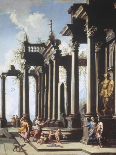 Roman Capriccio-Viviano Codazzi-Giclee Print