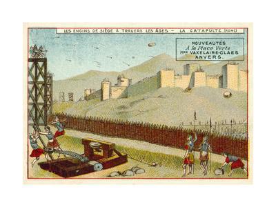 Roman Catapult--Giclee Print