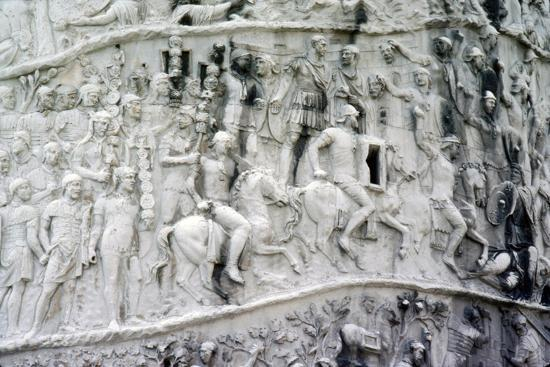 Roman Cavalry and Auxiliaries, Trajan's Column, Rome, c2nd century-Unknown-Giclee Print