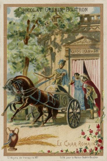Roman Chariot--Giclee Print