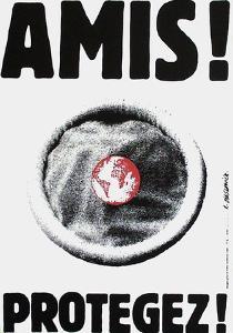 Amis ! Protégez ! by Roman Cieslewicz