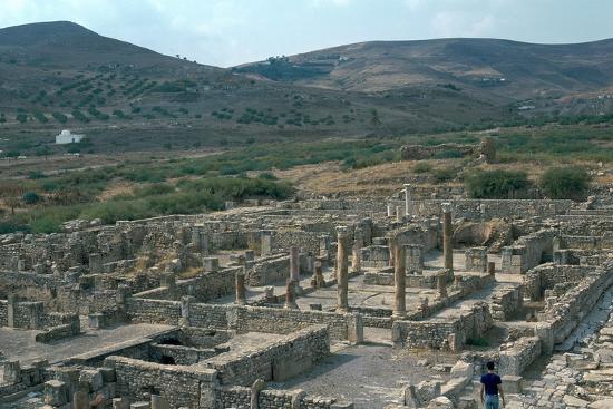 Roman city of Bulla Regia, 2nd century BC-Unknown-Photographic Print