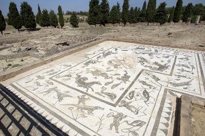 Roman City of Italica, House of Neptune, Spain--Photographic Print