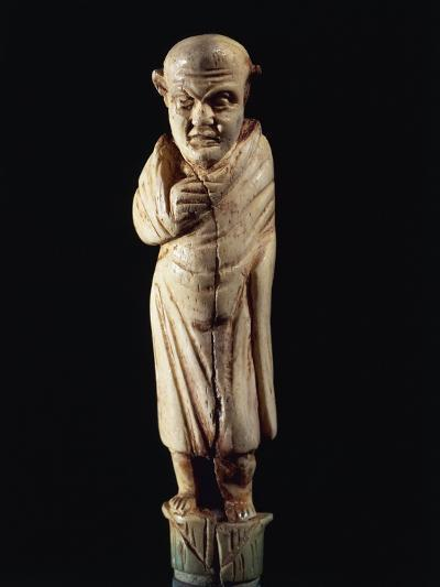 Roman Civilization. Bone-Handled Knife with Figure of Togaed Figure. from Graveyard at Forcella--Giclee Print