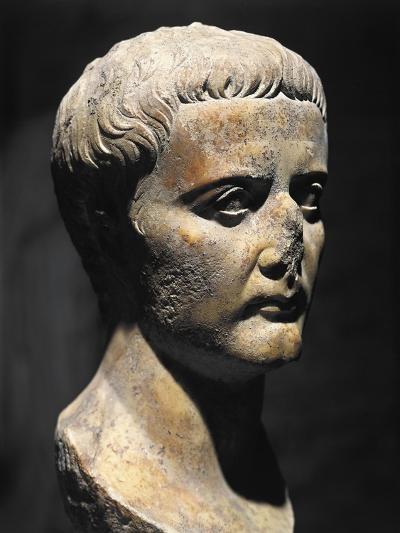 Roman Civilization Bust of Emperor Augustus--Giclee Print