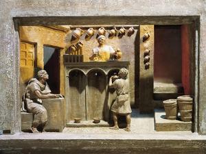 Roman Civilization, Model Reconstruction of Roman Wine Shop