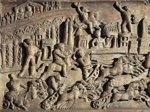 Roman Civilization, Relief Portraying Circus Maximus During the Games