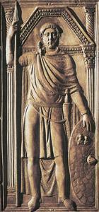 Roman Civilization, Valve from Diptych Portraying Flavius Stilicho
