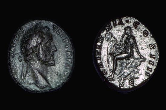 Roman coin of Vespasian, 1st century. Artist: Unknown-Unknown-Giclee Print