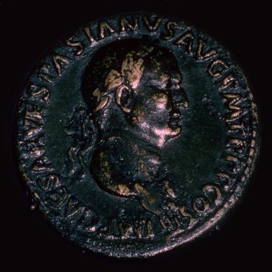 Roman coin of Vespasian. Artist: Unknown-Unknown-Giclee Print