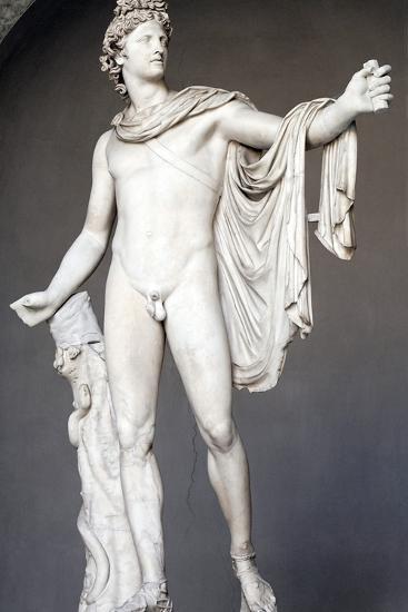 Roman Copy of Apollo Belvedere-Leochares-Photographic Print