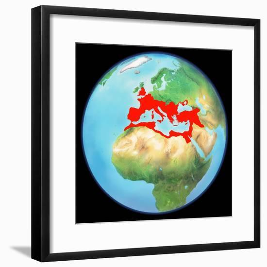 Roman Empire, Artwork-Gary Gastrolab-Framed Premium Photographic Print