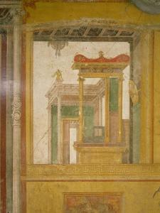 Fantastical Architecture, from the Casa Dei Vettii by Roman
