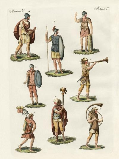 Roman Foot Soldiers--Giclee Print