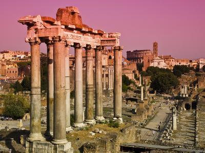 Roman Forum from Capitoline Hill-Glenn Beanland-Photographic Print