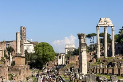 Roman Forum with Temple of Vesta-James Emmerson-Photographic Print