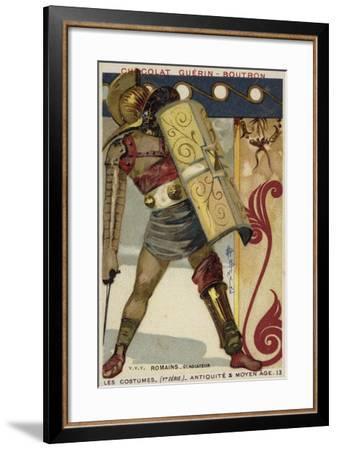 Roman Gladiator--Framed Giclee Print
