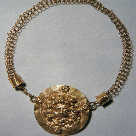 Roman gold pendant-Unknown-Giclee Print