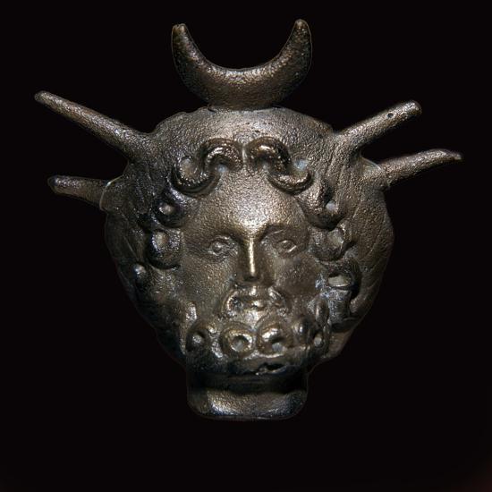 Roman head of Helioserapis-Unknown-Giclee Print