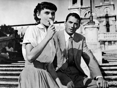 Roman Holiday, 1953--Photographic Print