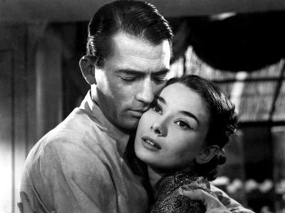 Roman Holiday, Gregory Peck, Audrey Hepburn, 1953--Photo