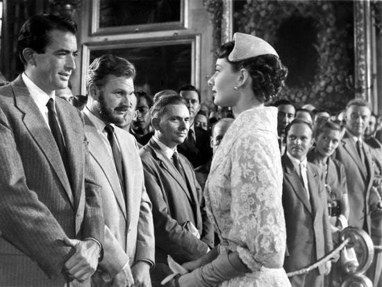 Roman Holiday, Gregory Peck, Eddie Albert, Audrey Hepburn, 1953 ...