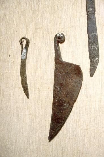 Roman Iron Knives, Alesia, France, c1st century-Unknown-Giclee Print
