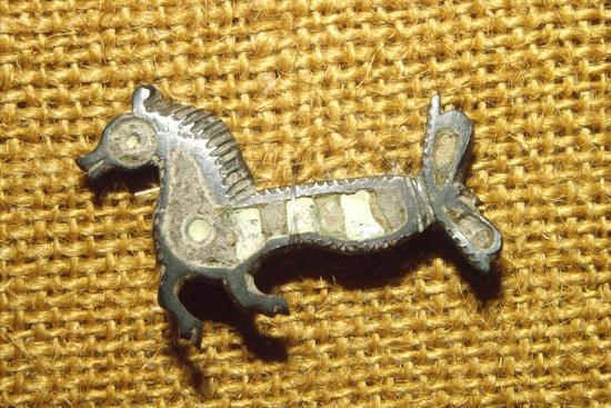 Roman jewellery detail Horse, Alesia, c1st century-Unknown-Giclee Print