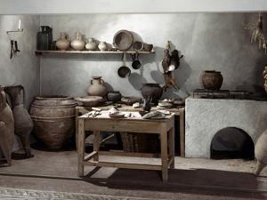 Roman Kitchen, 100 A.D