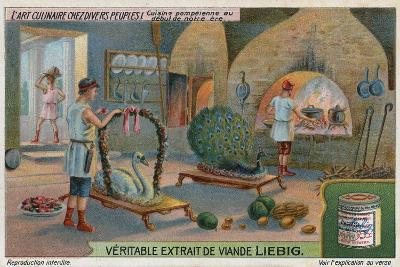 Roman Kitchen in Pompeii--Giclee Print