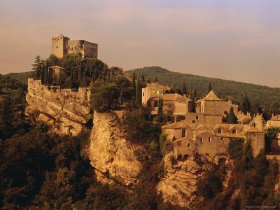 Roman-Medieval Town of Vaison-La-Romaine, Vaucluse Region, France-Duncan Maxwell-Photographic Print