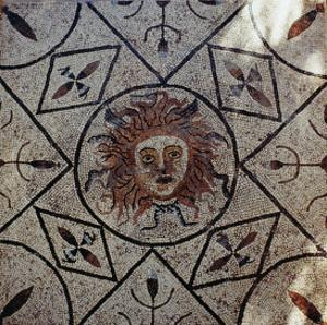 Medusa, Roman Mosaic from the House of Orpheus, 3rd Century Ad by Roman