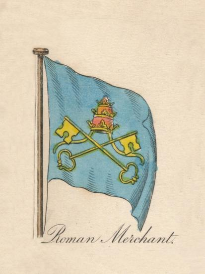 'Roman Merchant', 1838-Unknown-Giclee Print