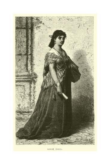 Roman Model--Giclee Print