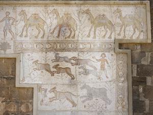 Roman Mosaic at the Theatre of Bosra, Syria